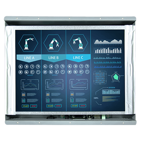 """Winmate 12.1"""" R12T600OFL1 Open Frame Display"""